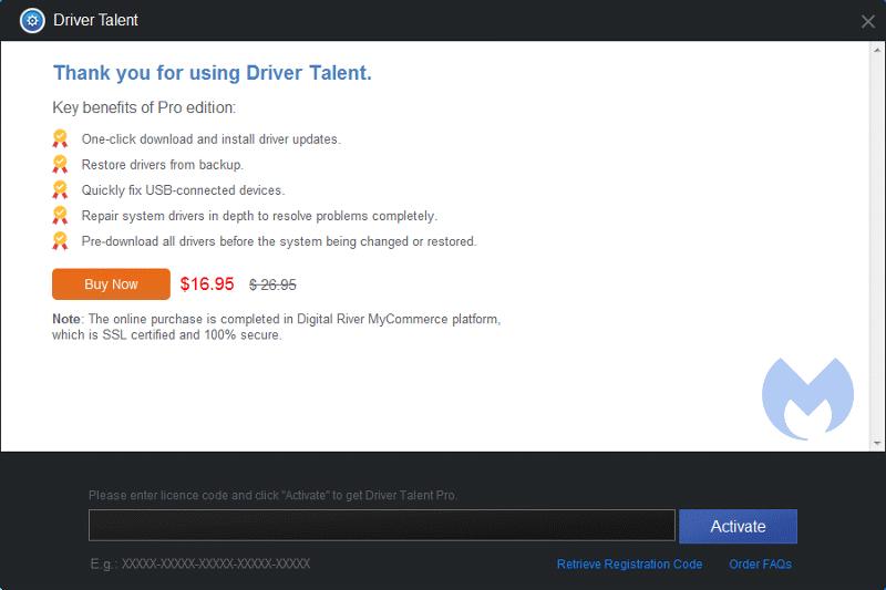 driver talent license code list