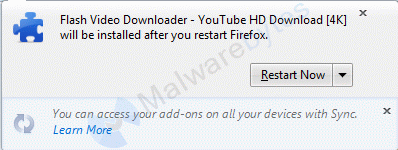 Removal instructions for Flash Video Downloader - Malware