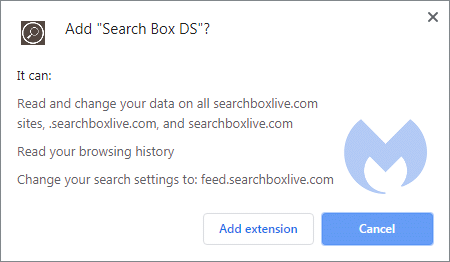 Removal instructions for Search Box DS - Malware Removal