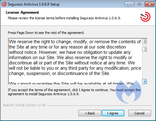 Removal instructions for Segurazo - Malware Removal Self