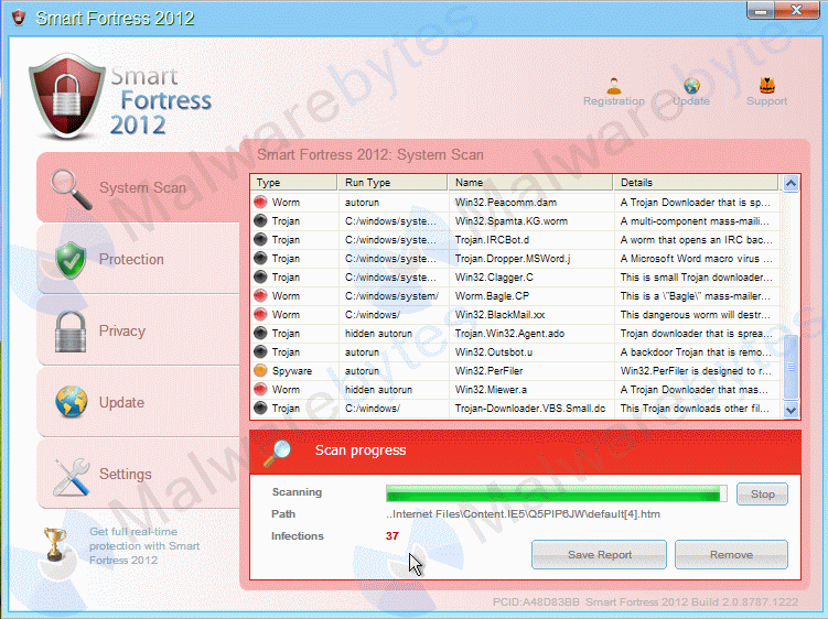 How to Get Rid of Smart Fortress 2012 Virus?